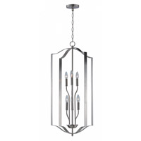 Maxim 10038SN Provident 6 Light 18 inch Satin Nickel Single Pendant Ceiling Light