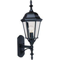 Maxim Lighting Westlake 1 Light Outdoor Wall Mount in Black 1003BK