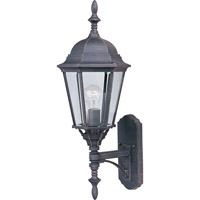 Maxim 1003RP Westlake 1 Light 24 inch Rust Patina Outdoor Wall Mount