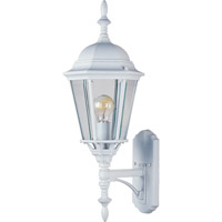 Maxim Lighting Westlake 1 Light Outdoor Wall Mount in White 1003WT
