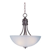 Maxim 10044FTOI Logan 3 Light 16 inch Oil Rubbed Bronze Pendant Ceiling Light