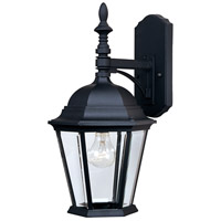 Maxim Lighting Westlake 1 Light Outdoor Wall Mount in Black 1004BK