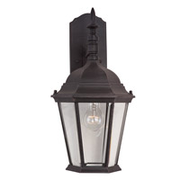 Maxim 1004RP Westlake 1 Light 19 inch Rust Patina Outdoor Wall Mount