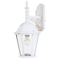 Westlake 1 Light 19 inch White Outdoor Wall Mount