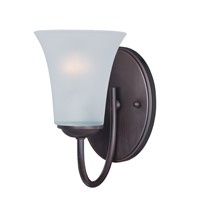 Maxim Lighting Logan 1 Light Bath Vanity in Oil Rubbed Bronze 10051FTOI