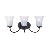 Maxim Lighting Logan 3 Light Bath Vanity in Oil Rubbed Bronze 10053FTOI