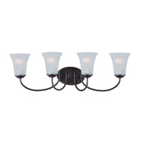 Maxim Lighting Logan 4 Light Bath Vanity in Oil Rubbed Bronze 10054FTOI