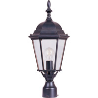Maxim Lighting Westlake 1 Light Outdoor Pole/Post Lantern in Empire Bronze 1005EB photo thumbnail
