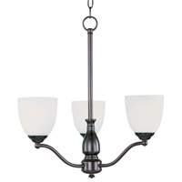Maxim Lighting Stefan 3 Light Single-Tier Chandelier in Oil Rubbed Bronze 10064FTOI