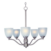 Maxim Lighting Stefan 5 Light Single-Tier Chandelier in Satin Nickel 10065FTSN