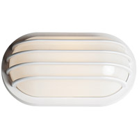White Bulwark Outdoor Wall Lights