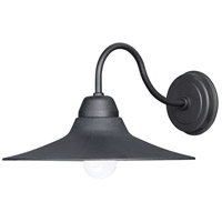 Maxim 10114BK Dockside 1 Light 9 inch Black Outdoor Wall Mount