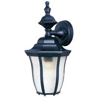 Maxim Lighting Madrona 1 Light Outdoor Wall Mount in Black 1011BK