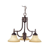 Maxim Lighting South Bend 3 Light Mini Chandelier in Oil Rubbed Bronze 10154WSOI photo thumbnail
