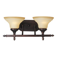 Maxim Lighting South Bend 2 Light Bath Light in Oil Rubbed Bronze 10157WSOI
