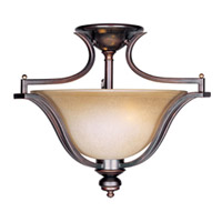 Maxim Lighting Madera 2 Light Semi-Flush Mount in Oil Rubbed Bronze 10170WSOI