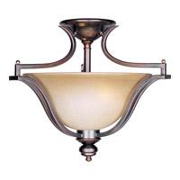 Maxim 10171WSOI Madera 3 Light 20 inch Oil Rubbed Bronze Semi Flush Mount Ceiling Light