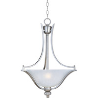 Maxim 10173ICSS Madera 3 Light 20 inch Satin Silver Pendant Ceiling Light
