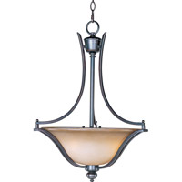 Maxim 10173WSOI Madera 3 Light 20 inch Oil Rubbed Bronze Pendant Ceiling Light
