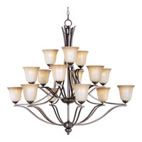 Maxim Lighting Madera 15 Light Multi-Tier Chandelier in Oil Rubbed Bronze 10178WSOI
