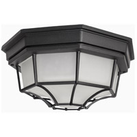 Maxim 1020BK Crown Hill 2 Light 12 inch Black Outdoor Ceiling Mount
