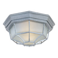 Maxim Lighting Crown Hill 2 Light Outdoor Ceiling Mount in Pewter 1020PE