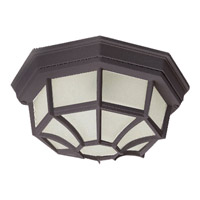 Crown Hill 2 Light 12 inch Rust Patina Outdoor Ceiling Mount