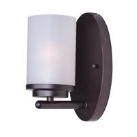 Maxim 10211FTOI Corona 1 Light 5 inch Oil Rubbed Bronze Bath Vanity Wall Light