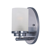 Corona 1 Light 5 inch Polished Chrome Bath Vanity Wall Light