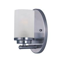 Maxim 10211FTPC Corona 1 Light 5 inch Polished Chrome Bath Vanity Wall Light