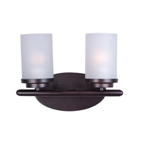 Maxim 10212FTOI Corona 2 Light 12 inch Oil Rubbed Bronze Bath Vanity Wall Light