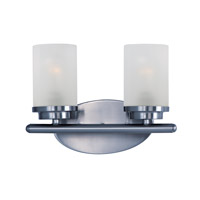 Corona 2 Light 12 inch Polished Chrome Bath Vanity Wall Light
