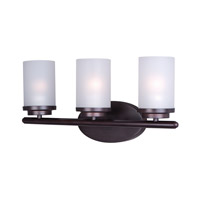 Maxim 10213FTOI Corona 3 Light 19 inch Oil Rubbed Bronze Bath Vanity Wall Light