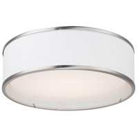 Prime LED 16 inch Satin Nickel Flush Mount Ceiling Light