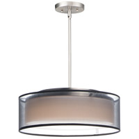 Maxim 10224BOSN Prime LED 16 inch Satin Nickel Single Pendant Ceiling Light