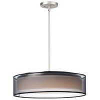 Prime LED 20 inch Satin Nickel Single Pendant Ceiling Light