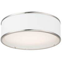 Maxim 10231WLSN Prime LED 16 inch Satin Nickel Flush Mount Ceiling Light