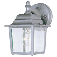 Maxim 1025PE Builder Cast 1 Light 9 inch Pewter Outdoor Wall Mount