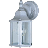 Maxim Lighting Builder Cast 1 Light Outdoor Wall Mount in Pewter 1026PE