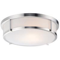 Maxim 10270WTSN Rogue 3 Light 17 inch Satin Nickel Flush Mount Ceiling Light