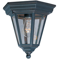 Maxim 1027EB Westlake 1 Light 9 inch Empire Bronze Outdoor Ceiling Mount
