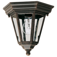 Maxim Lighting Westlake 1 Light Outdoor Ceiling Mount in Rust Patina 1027RP