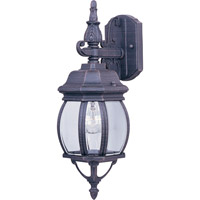 Maxim Lighting Crown Hill 1 Light Outdoor Wall Mount in Rust Patina 1030RP