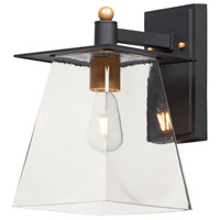 Maxim 10313CLBZGLD Chalet LED 13 inch Bronze and Gold Outdoor Wall Mount