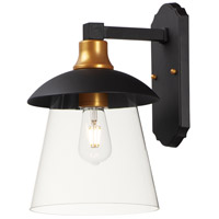 Maxim 10316CLBZGLD Crib LED 15 inch Bronze and Gold Outdoor Wall Mount
