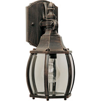Crown Hill 1 Light 11 inch Rust Patina Outdoor Wall Mount