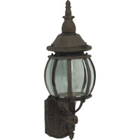 Maxim Lighting Crown Hill 1 Light Outdoor Wall Mount in Rust Patina 1032RP
