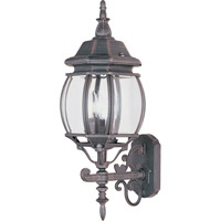 Maxim 1033RP Crown Hill 3 Light 24 inch Rust Patina Outdoor Wall Mount