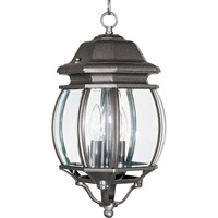 Maxim Lighting Crown Hill 3 Light Outdoor Hanging Lantern in Rust Patina 1036RP