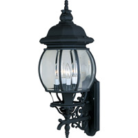 Maxim 1037BK Crown Hill 4 Light 29 inch Black Outdoor Wall Mount